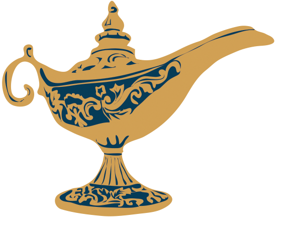 Click the genie lamp below to subscribe to updates!